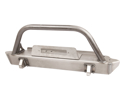 Picture of Rock Defense Front Bumper With Stinger (Jeep Yj/Tj)