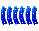"Picture of Beadlock Ring, Segmented 17"", Blue (Set Of 6)"