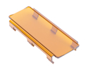"Picture of Led Cover, 8"""", Snap On Cover, Amber"