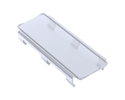 "Picture of Led Cover, 8"", Snap On Cover, Clear"